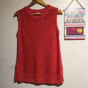 J.CREW Sleeveless Knitted Blouse